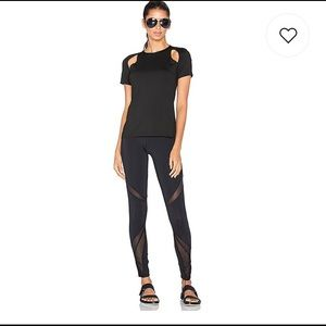 MICHI Slash Top in Black-Size M-**SOLD OUT STYLE**